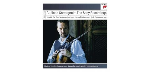 Giuliano Carmignola - The Sony recordings