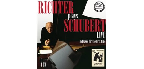 Schubert, Franz - Richter plays Schubert (4CD-box) - Richter, Sviatoslav (piano)