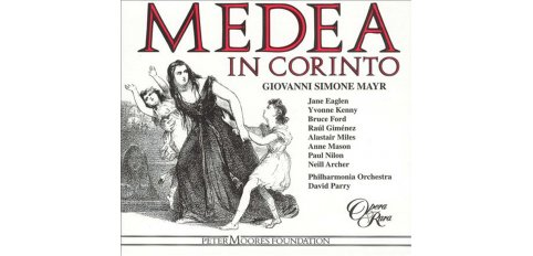 Mayr, G.S.: Medea in Corinto (3 cd)